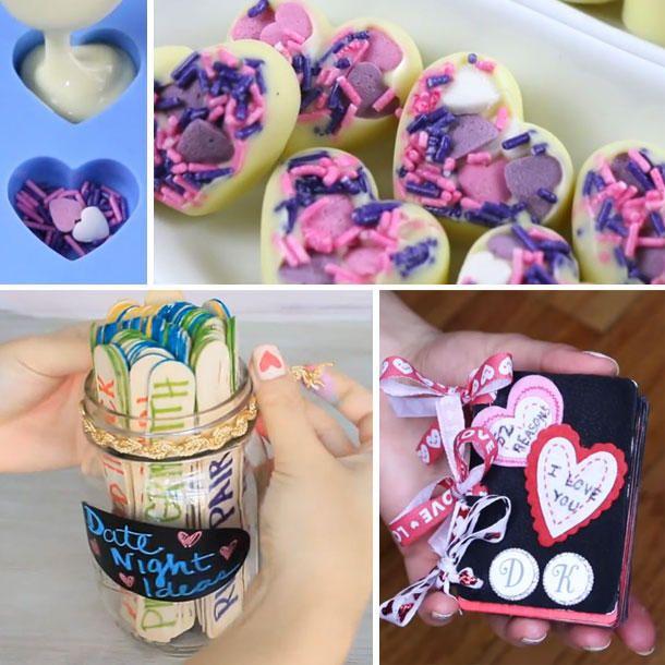 Valentinstag Geschenke Selber Machen: 5 DIY Geschenke