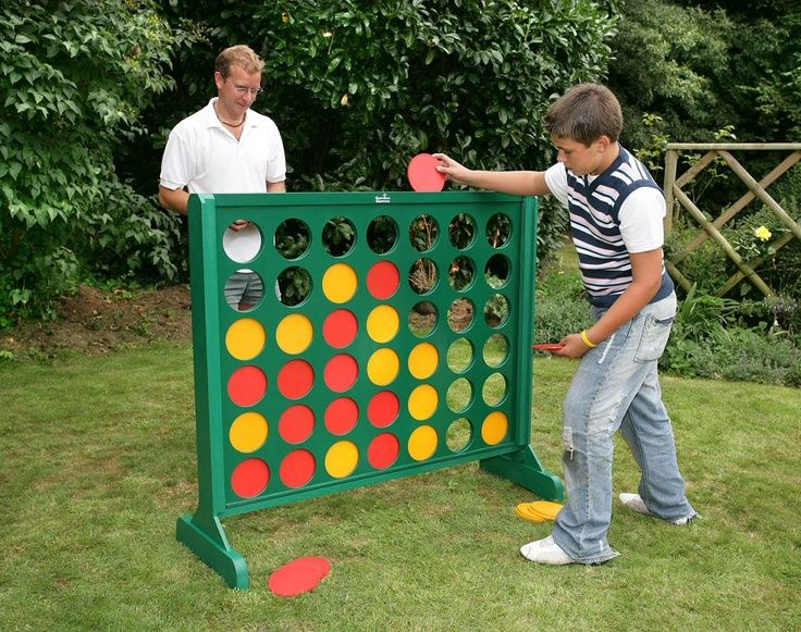 yard games   Four In a Line Game - Large Outdoor Version - tomorrows adventures
