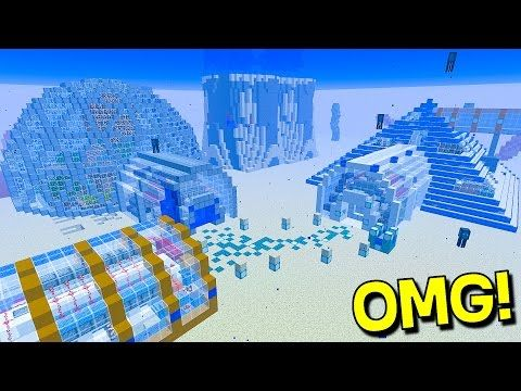 ultimate underwater redstone minecraft house youtube minecraft redstoneminecraft housesworlds biggestconfirmationunderwatergoodies
