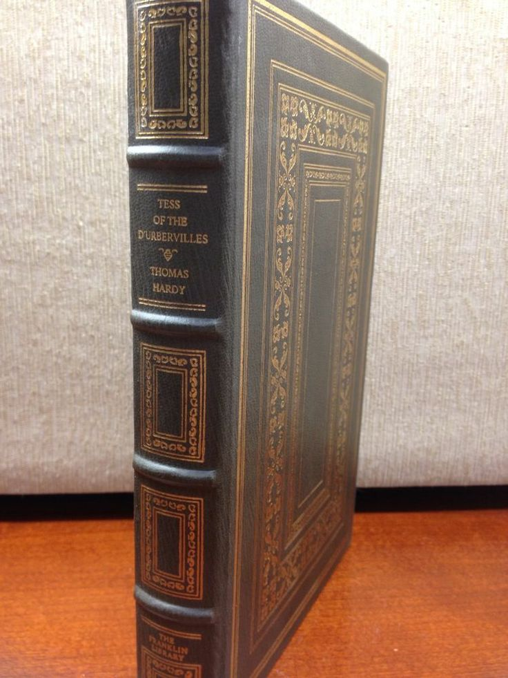 Tess of the D'Urbervilles Thomas Hardy Franklin Library Full Leather Greatest