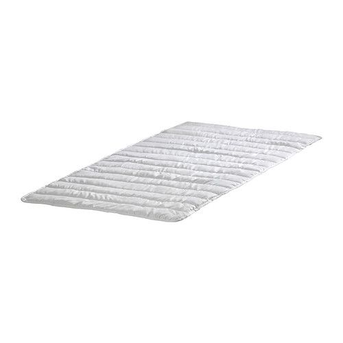 IKEA - NATTLIG, Waterproof mattress protector, , The waterproof inner layer protects the mattress.Elastic ribbon in each corner to keep the mattress protector in place.Quick to remove and easy to wash.