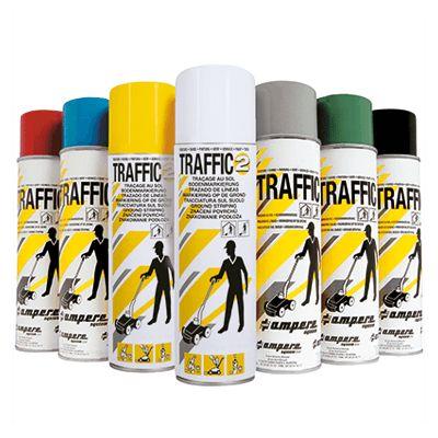 Markeringsspray Traffic Paint – Bestil online hos JO Safety!