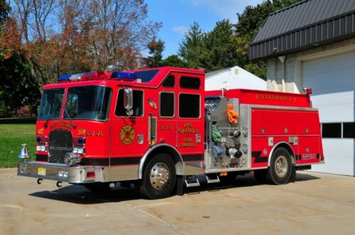 East Freehold Fire Company (NJ) 1999 KME CLASS A 1500 GPM PUMPER http://www.setcomcorp.com/cell-phone-intercom-integration.html