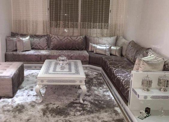 Salon marocain moderne | Salons modernes | Salon marocain ...