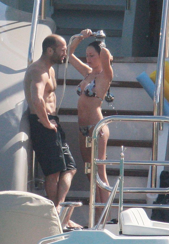 Jason Statham and Alex Zosman Photo - Orlando Bloom and Jason Stathem on a Yacht