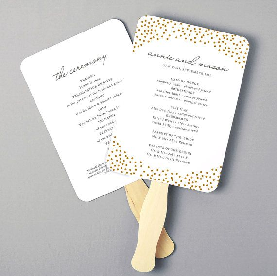 The 25+ best Print your own wedding programs ideas on Pinterest