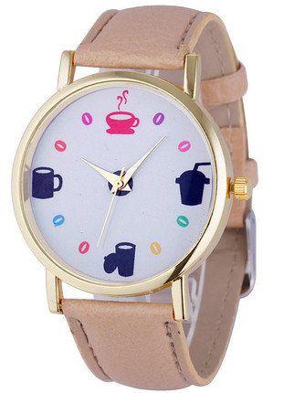Kup mój przedmiot na #vintedpl http://www.vinted.pl/akcesoria/bizuteria/16040860-zegarek-dla-milosnikow-kawy-zapraszam