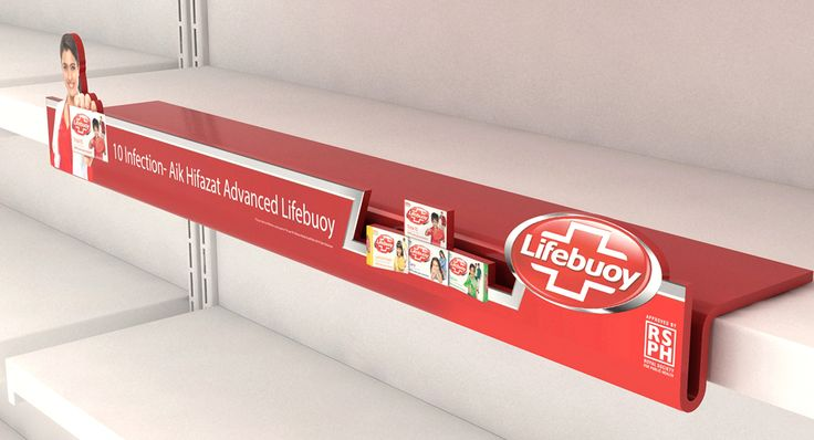 Lifebuoy POSM on Behance