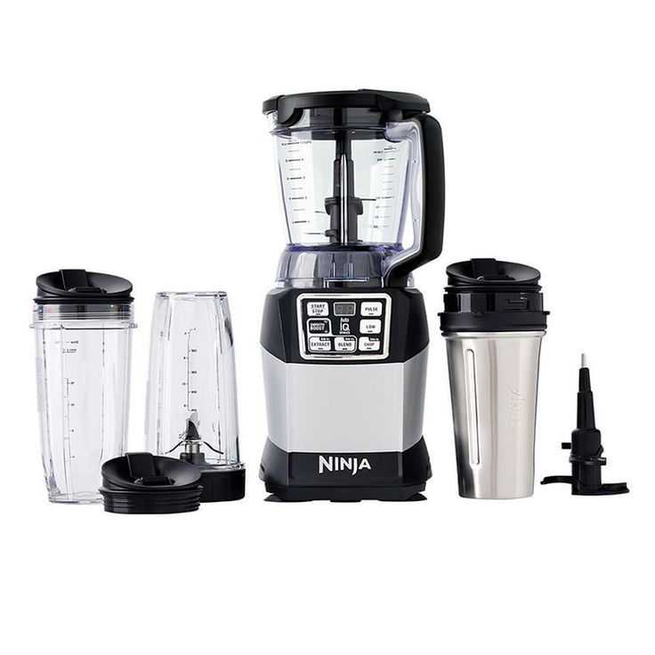 Nutri Ninja Pro Compact System with Auto-iQ BL492 NEW IN BOX BLENDER SMOOTHIES! #Ninja