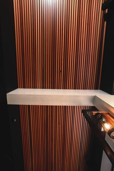 Castelation Stepped Expression Panelling by Urbanline #timber #sustainable #wood #paneling #woodpanel #ceiling #wallpanel #ceilingpanel #wall #home #decoration #interior #ecofriendly #green