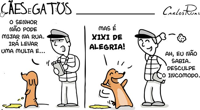 Cães e Gatos – Xixi de alegria! 2