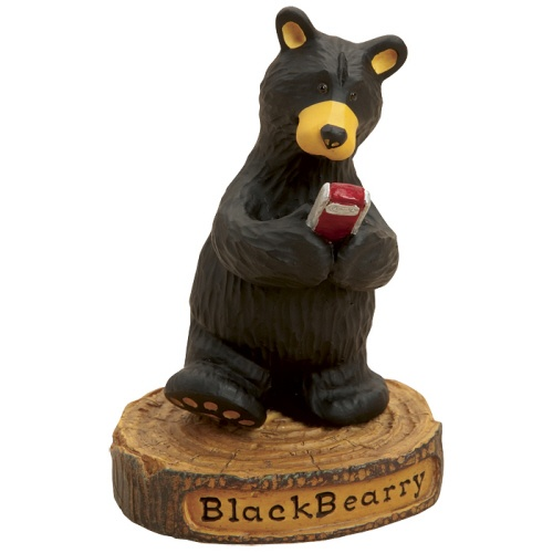 black bear figurines christmas tree shops