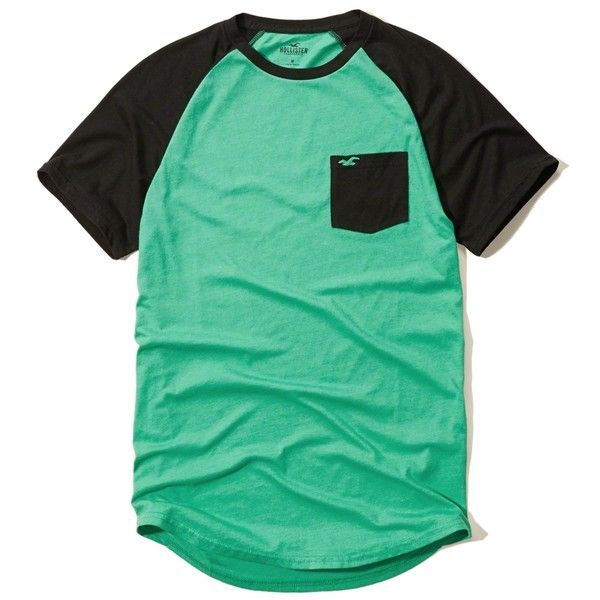 Guys T-Shirts Henleys Tops (18 SGD) ❤ liked on Polyvore featuring tops, t-shirts, shirts, t shirts, graphic tees, green top, henley t shirt and green t shirt