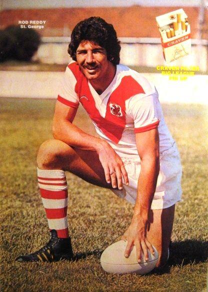 Rod Reddy – 1976 St George Dragons