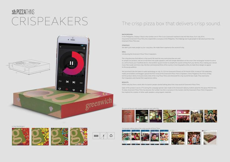 Greenwich Pizza: Crispeakers / Publicis Jimenezbasic, Philippines