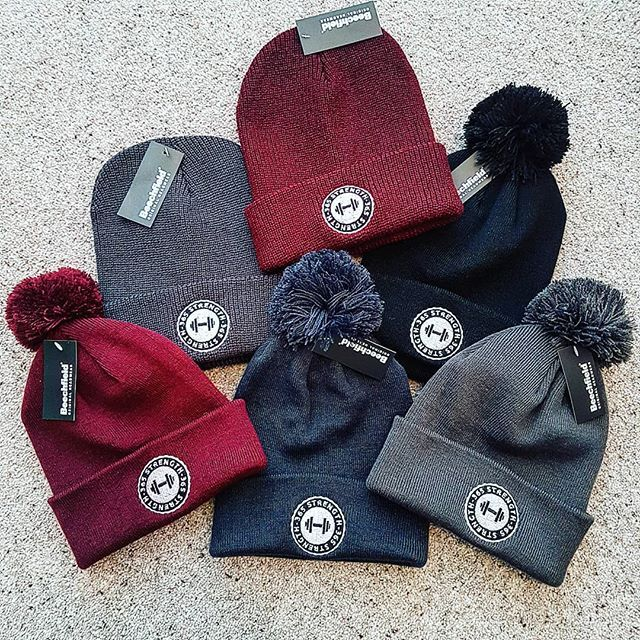 A new shipment of 365 Strength Beanie's has arrived.  New darker grey bobble and non bobble and also burgundy with bobble now in stock Ideal for these cold mornings 12.00 - DM for details  #beaniehat #beanieseason #365clothing #team365strength #whentrainingislife #whentrainingislife #crossfitapparel #bodybuildingapparel #olympicliftingapparel #powerliftingapparel #rugbyapparel #365strength #gymlife