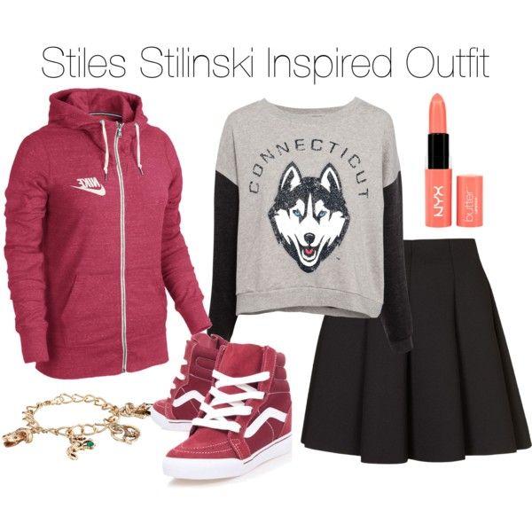 teen wolf stiles stilinski inspired outfit