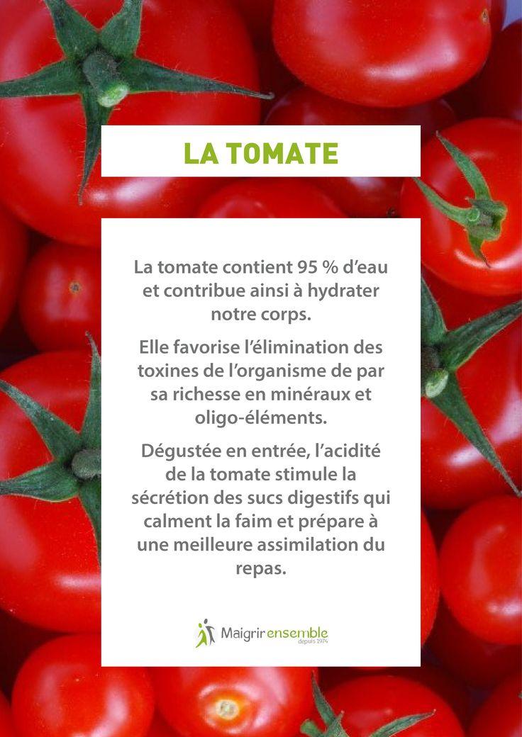 Fruits et Légumes - La Tomate  // Bienfaits Alimentation saine et équilibrée