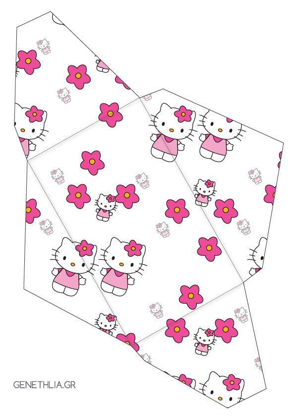 φακελος hello kitty για δωρεάν εκτύπωση! - hello kitty envelope - free printable