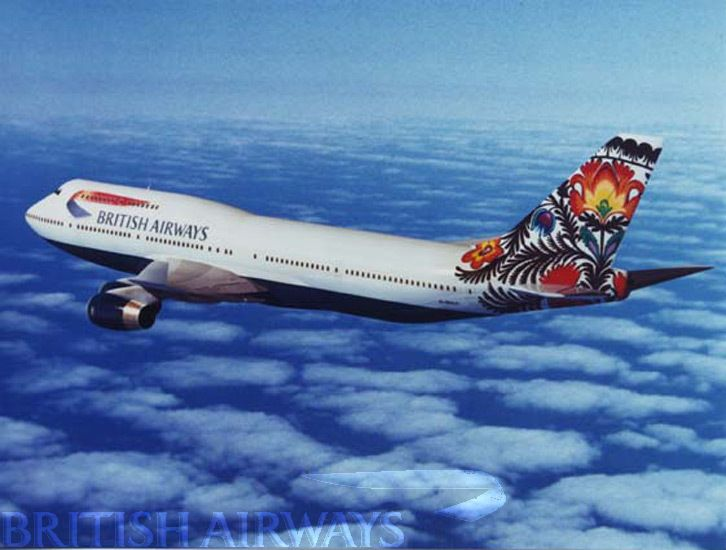 British Airways - photographs 1990 - present