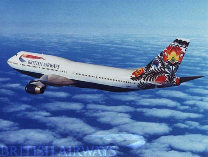British Airways - photographs 1990 - present