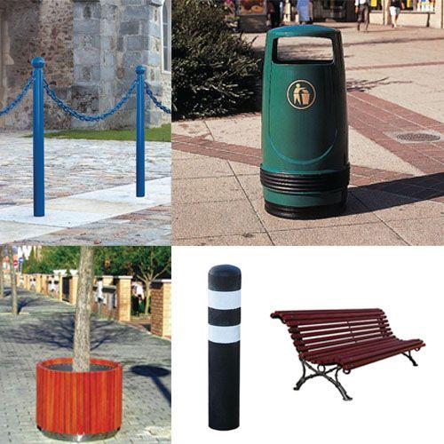 Com'Park Outdoor : ... Expert en Aménagement Urbain ! Quelques produits...