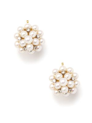 Vintage Tiffany and Co Pearl/Diamond earrings