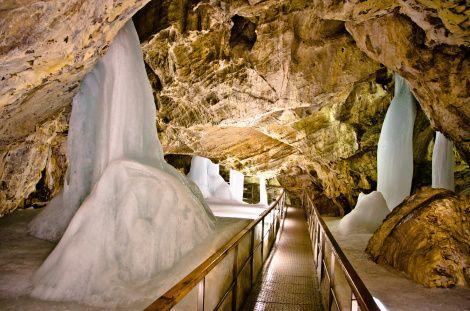 Demianowska Jaskinia Lodowa, Niżne Tatry, Słowacja