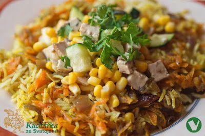 Kuchařka ze Svatojánu: RYCHLÁ KARI RÝŽE