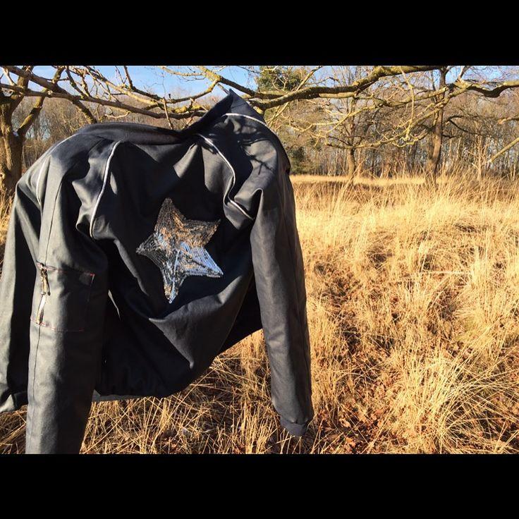 #bomberjacket #selfmade #Carolajanet
