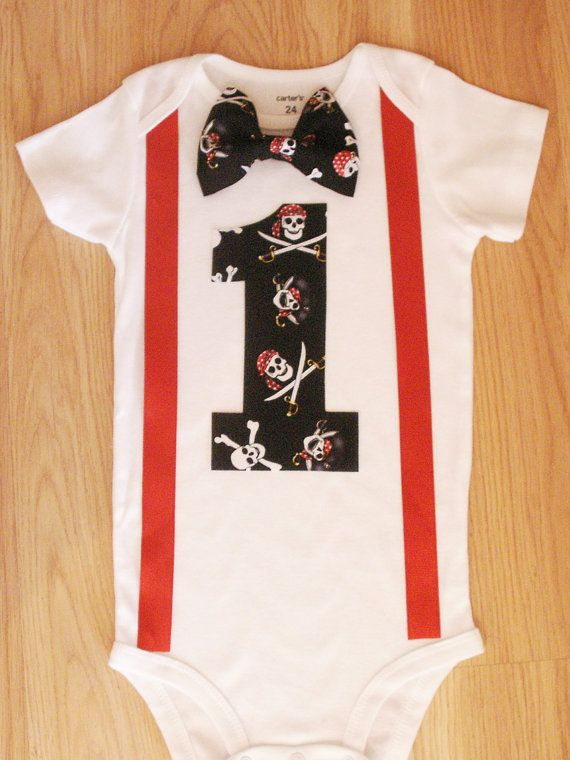 Pirate+bodysuit++Pirate+outfit+Pirate+birthday+by+kottoncactus,+$22.50