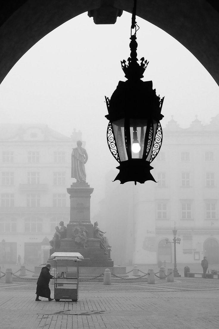 Old City in Krakow, Poland