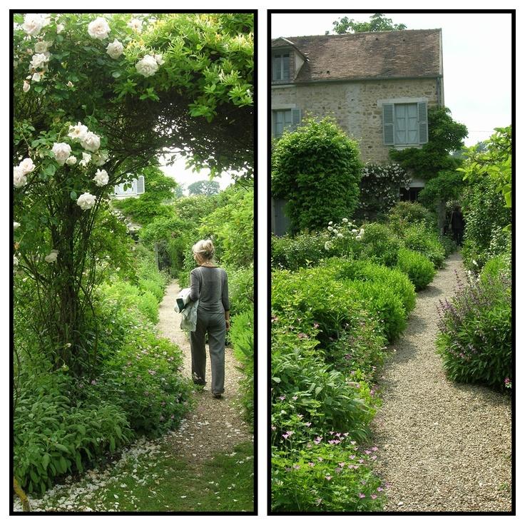 Jardin de la maison de Stéphane Mallarmé à Vulaines sur Seine (77) à visiter au gré des saisons ou des animations musicales