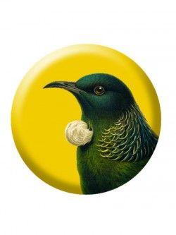 Tui – Tin Badge | Design Withdrawals