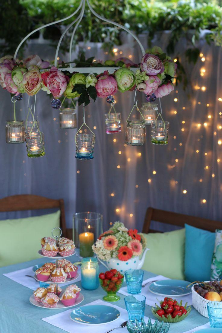 summer decorations, outdoor  furniture