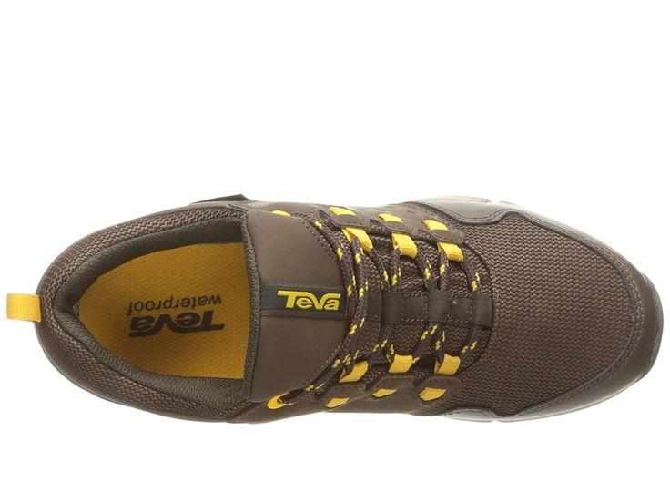 Teva Kids Wit (Big Kid) Boys Shoes Chocolate/Yellow