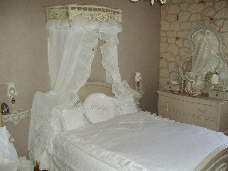 chambre shabby chic et romantique photo cliente le grenier d alice d co shabby chic. Black Bedroom Furniture Sets. Home Design Ideas