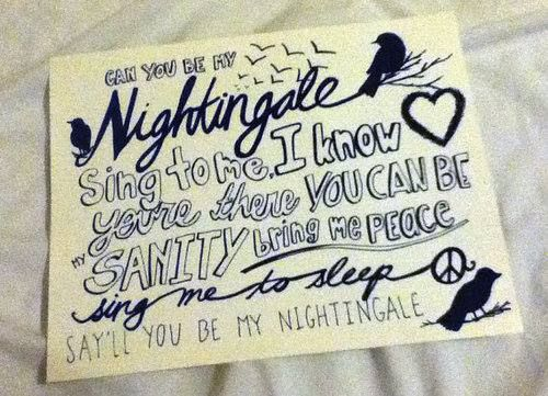 Nightingale -Demi Lovato Obsessed with this song!!!!!!!!!!!!!!