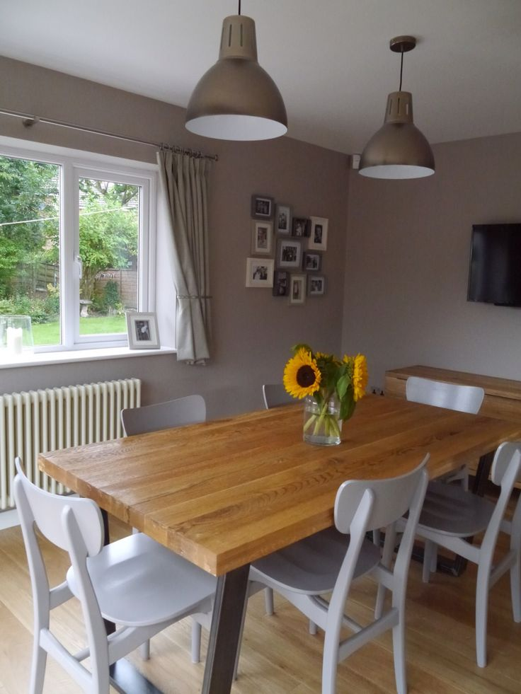 My New Kitchen Dining Room John Lewis Hampton Silver