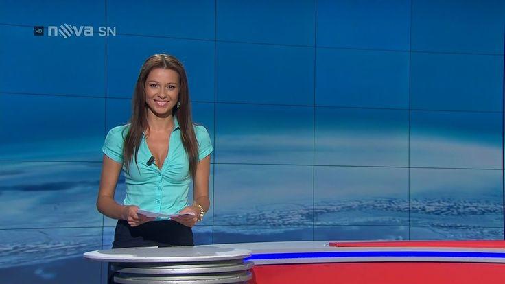 Inna Puhajková Czech Sports presenter