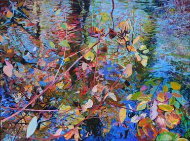 """Saatchi Art Artist Ellen Dittebrandt; Painting, """"under over """" #art"""