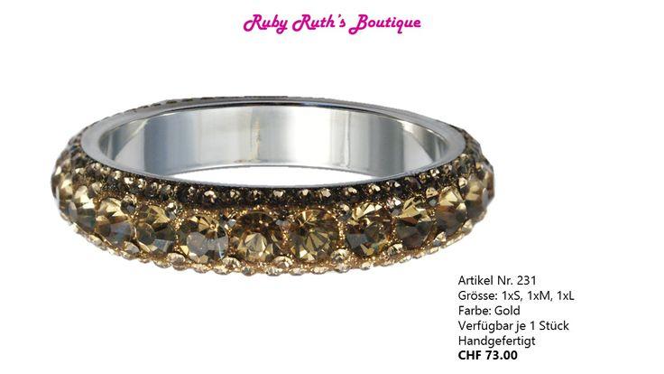 Lady Regina, Gold Bangle/Armreif