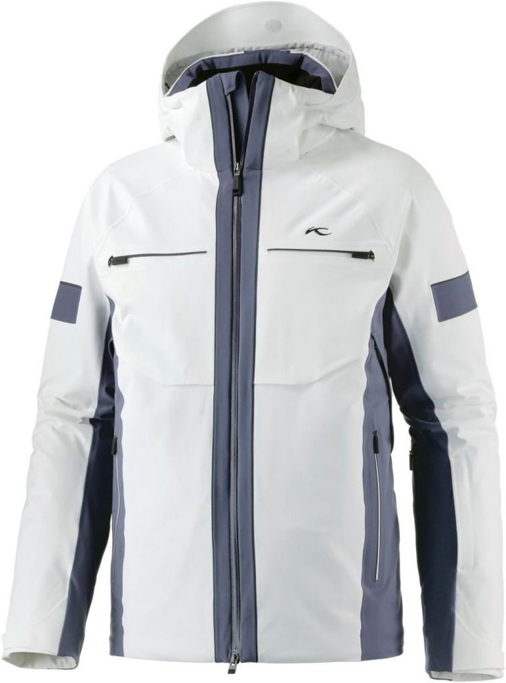 #KJUS #Downforce #Skijacke #Herren #weiß/graublau