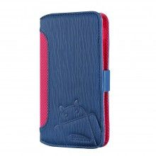 Funda Nexus 5 Cruzerlite - Bugdroid Circuit Intelligent Wallet Navy - Pink  € 19,99