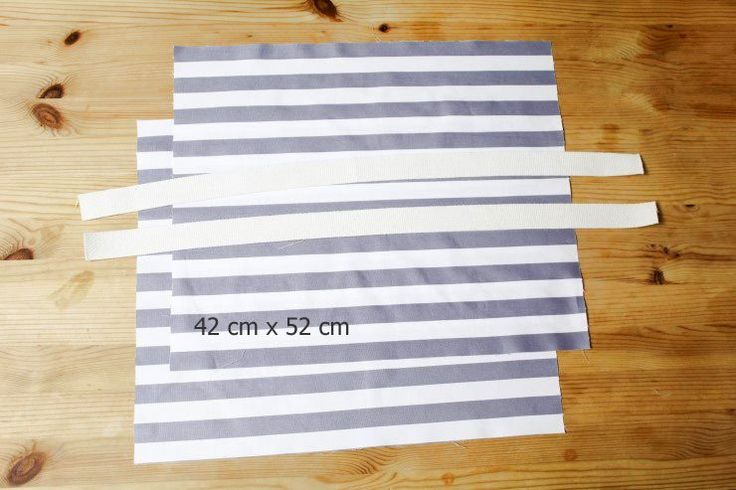 How to make Eco Fabric Shopping Bag. Step by Step Photo Tutorial.