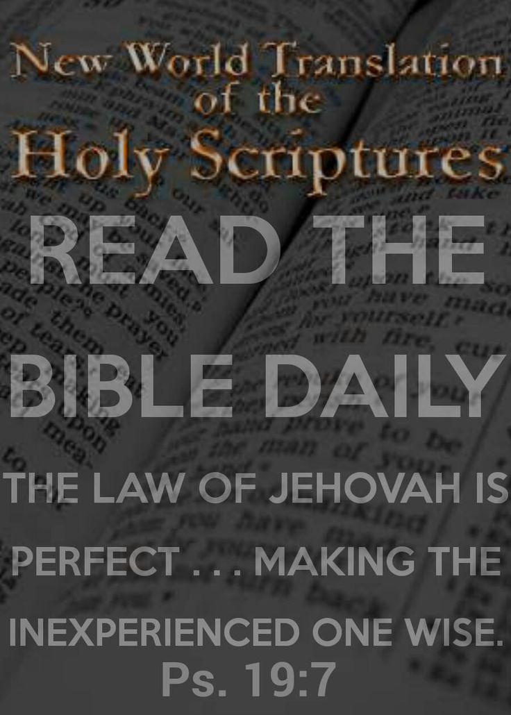 Friday, November 21 Daily Text www.jw.org