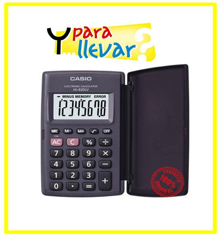 Calculadora Bolsillo CASIO HL 820LV-BK