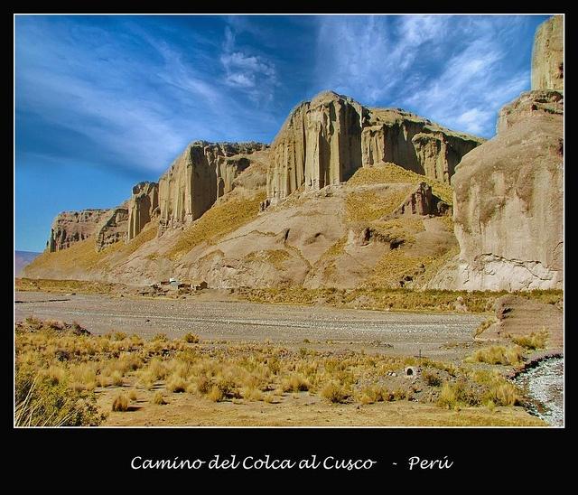 Camino al Colca, Peru