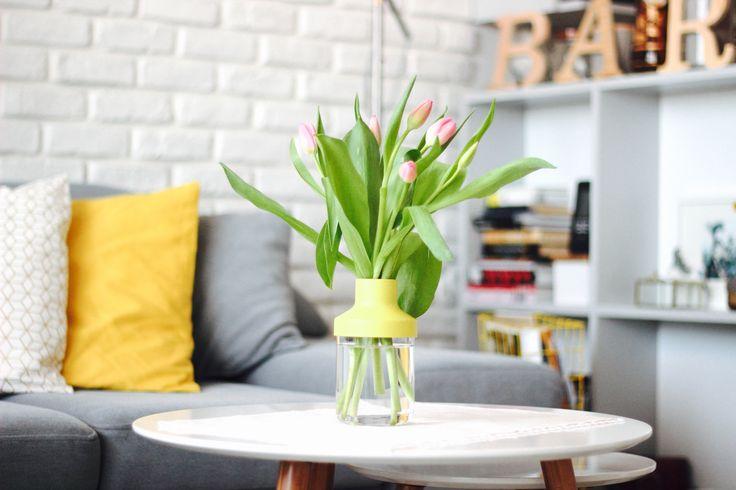 flowers make home more homey