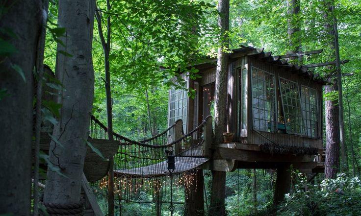 Case sull'albero, trulli e castelli: gli alloggi per famiglie più belli di Airbnb - Repubblica.it
